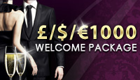 $1000 Welcome Package at LesAcasino