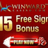 $15 No Deposit Bonus at Winward Casino