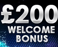 Welcome Bonus of £200 at Gala Casino
