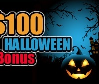 $100 Halloween Bonus Intertops Casino