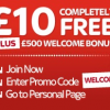 £10 No Deposit Bonus at Sky Vegas