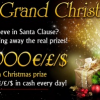 21 Grand Casino Christmas Promotion