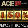 €300 First Deposit Bonus Ace Live Casino
